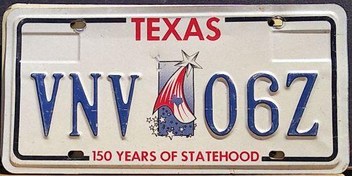TEXAS 1997 150 YEARS OF STATEHOOD