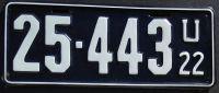 UTAH 1922