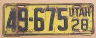 UTAH 1928