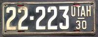 UTAH 1930