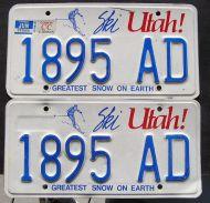 1987 UTAH TRUCK PAIR