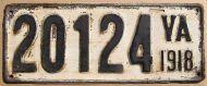 VIRGINIA 1918
