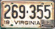 VIRGINIA 1952