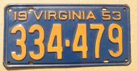 VIRGINIA 1953