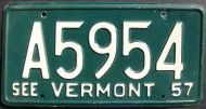 1957 VERMONT