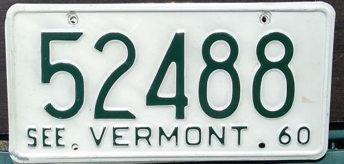 VERMONT 1960