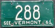 VERMONT 1961