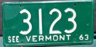 VERMONT 1963