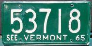 VERMONT 1965