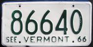 1966 VERMONT