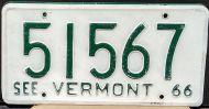 VERMONT 1966