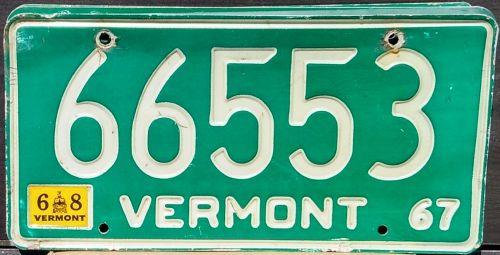 VERMONT 1968
