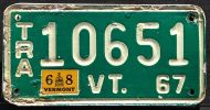 VERMONT 1967 TRAILER