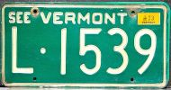 VERMONT 1973