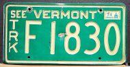 VERMONT 1974 TRUCK