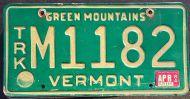 VERMONT 1984 TRUCK