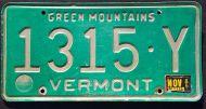 VERMONT 1985