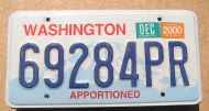 2000 WASHINGTON APPORTIONED TRUCK