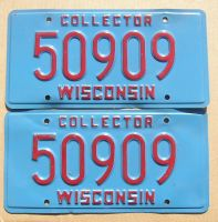 WISCONSIN COLLECTOR PAIR