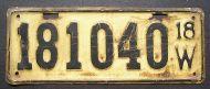 WISCONSIN 1918