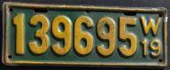 WISCONSIN 1919