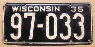 1935 WISCONSIN