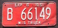 WISCONSIN 1951 TRUCK