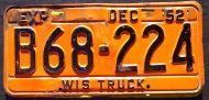 WISCONSIN 1952 TRUCK