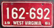 1961 WEST VIRGINIA