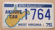 WEST VIRGINIA 1976 ANTIQUE CAR