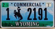 WYOMING 2014 COMMERCIAL