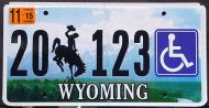 WYOMING 2015 DISABLED