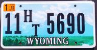 WYOMING 2015 HOUSE TRAILER