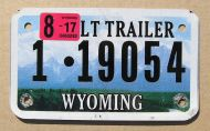 WYOMING 2017 LIGHT TRAILER