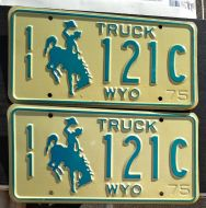 1975 WYOMING TRUCK PAIR