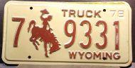 WYOMING 1978 TRUCK