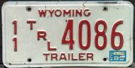 WYOMING 1989 TRAILER